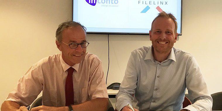 FileLinx INCONTO vernieuwen samenwerkingscontract